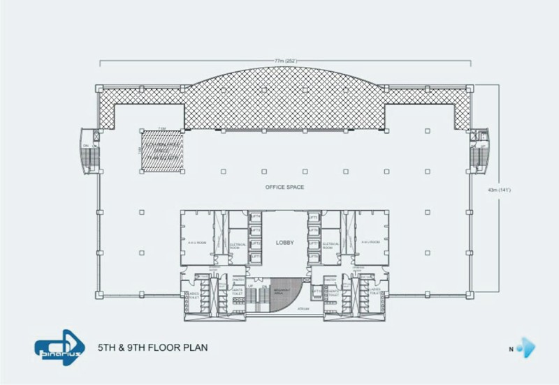 Binarius a software technology park in pune india for House plan with basement parking